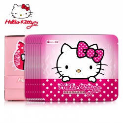 Hello Kitty 海藻细致毛孔面膜10片