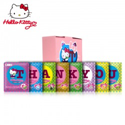 Hello Kitty 字母面膜 Thank You套装