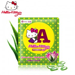 Hello Kitty 芦荟字母面膜A